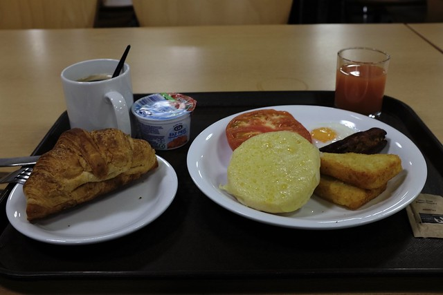 College Hall breakfast