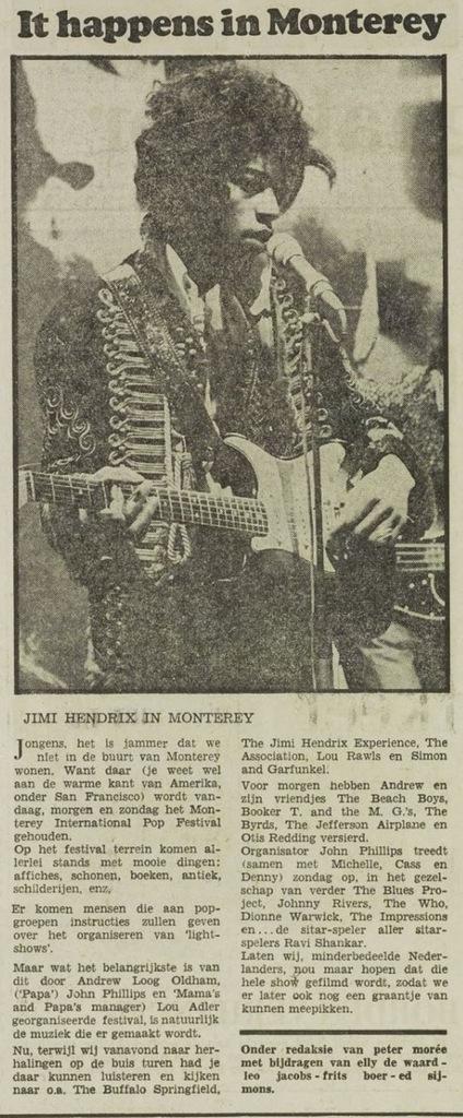 HET VRIJE VOLK (NETHERLANDS) JUNE 16, 1967