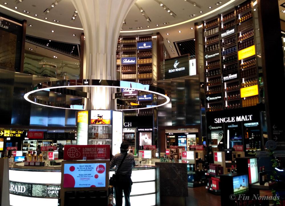 singapore airport shopping