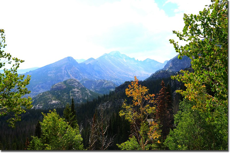 Longs Peak from Dream Lake Trail 3