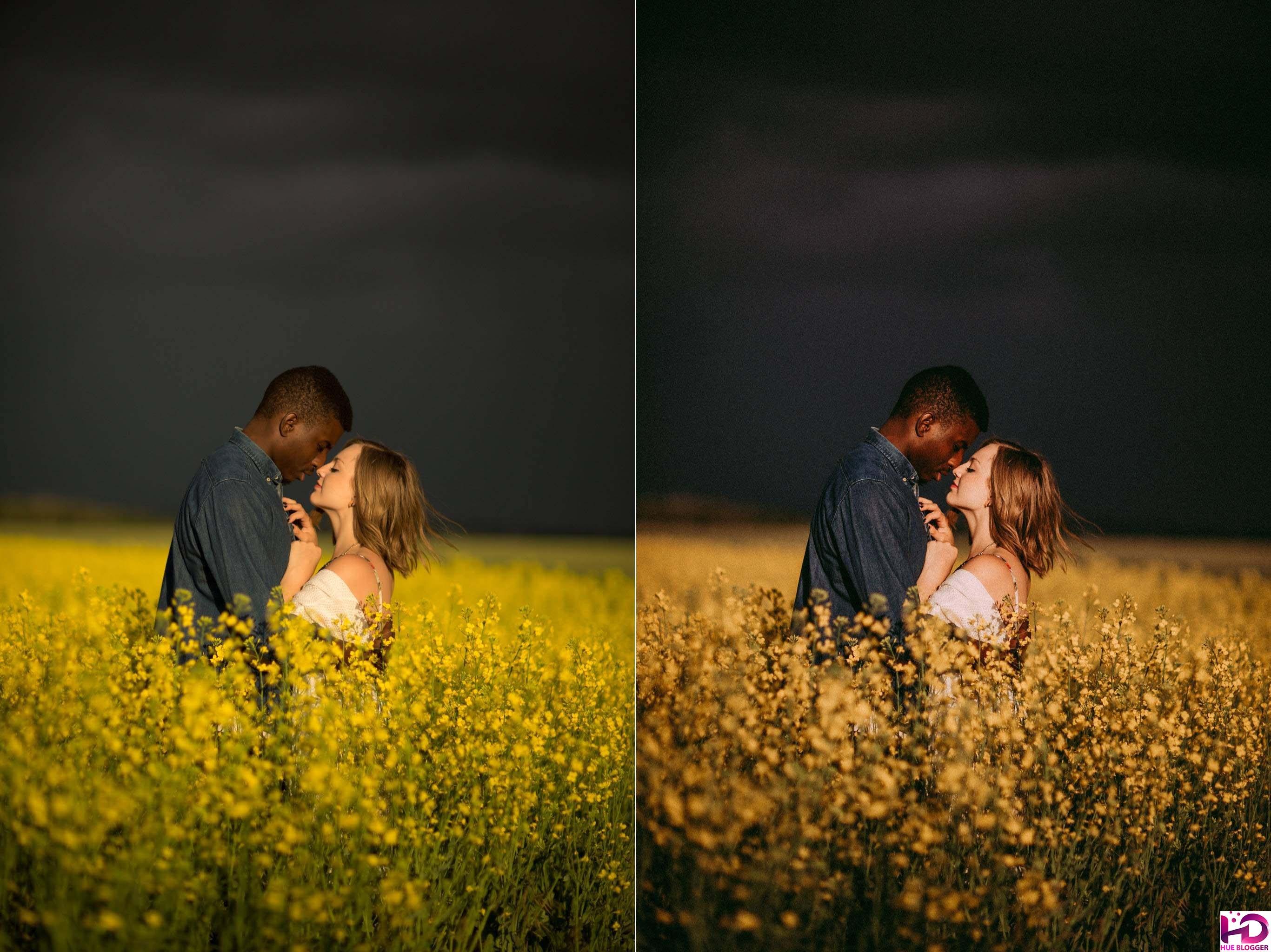 Bộ màu chuyên nghiệp dành cho xử lý ảnh cưới, ảnh tình yêu
