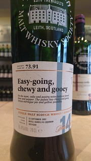 SMWS 73.91 - Easy-going, chewy and gooey