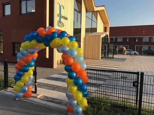 Ballonboog 5m OBS De Fontein Breda Back to School
