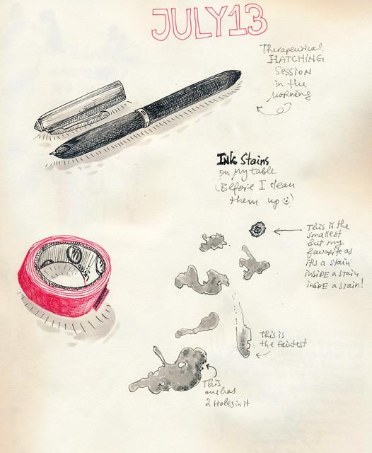 Sketchbook #107: Everyday Moments