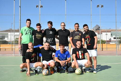 Primer trofeo de fútbol sala de la Peña Bética