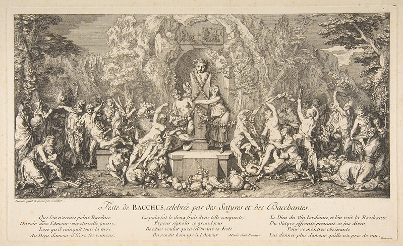 Claude Gillot - The Feast of Bacchus