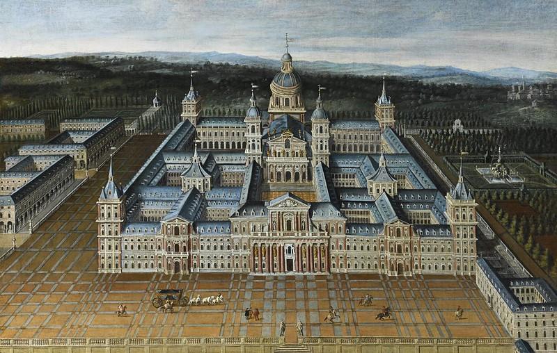 School of Madrid, 17th Century - View of El Escorial