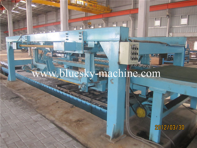 pneumatic stacker cut to length line for sale