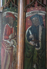 rood screen: prophets