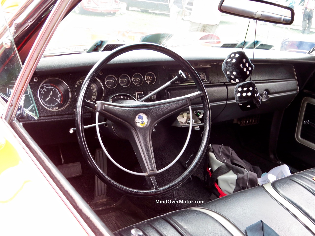 1970 Torred Superbird interior