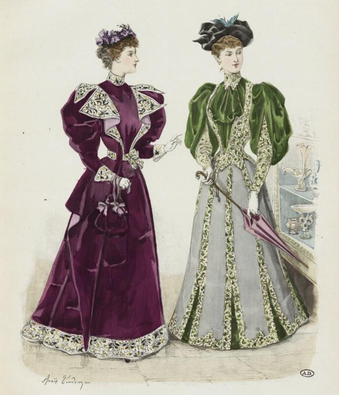 La Mode Illustrée, 23 septembre 1894