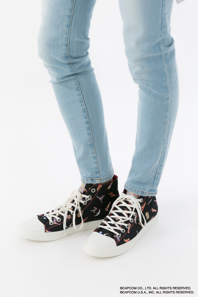 吃我的波動拳啦~《快打旋風II》帆布鞋 ストリートファイターII モデル スニーカー シューズ