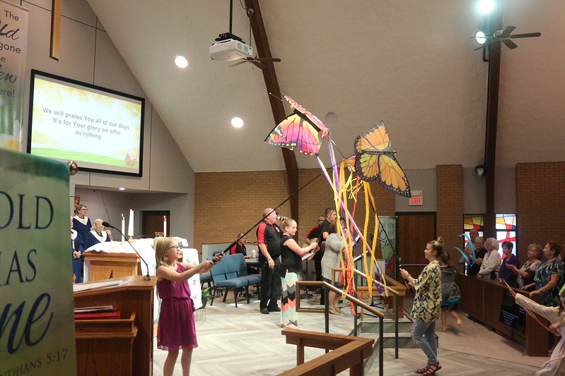Haysville UMC sanctuary reopening