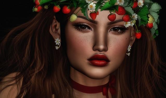 ~Midnight strawberries..