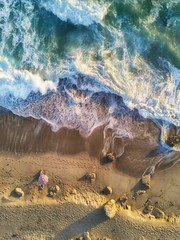 Drone shot at Point Dume. Edited with Plotagraph.