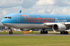 G-OBYD Thomsonfly B767-300/WL Manchester Ringway Airport