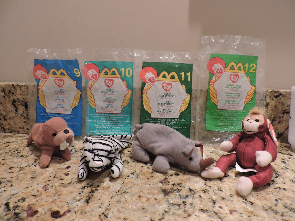 ... 2000 Retro McDonald s Happy Meal - Ty Beanie Babies (Group 3 -