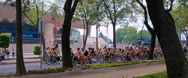 naturist 0033 WNBR World Naked Bike Ride, Mexico