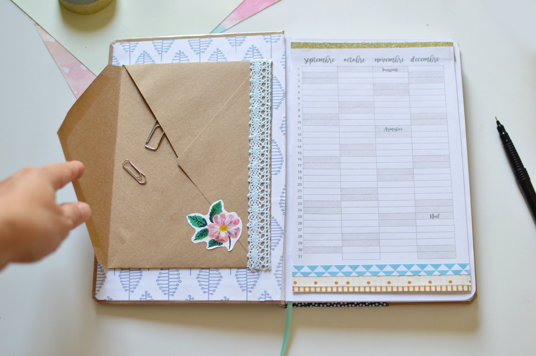 "Gut bekannt DIY ""BACK TO WORK"" : PERSONNALISER SON AGENDA - Les yeux en amande MO92"
