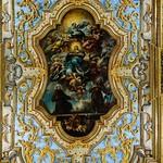 Inside the church of San Bernardino - fresco