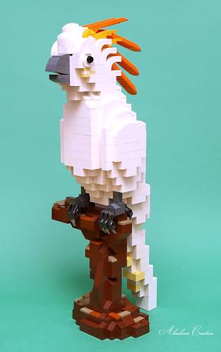 LEGO Cockatoo