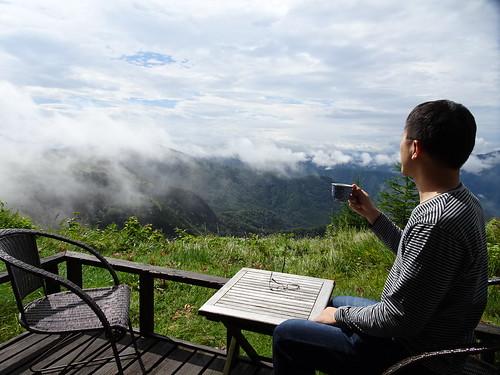 王ヶ頭ホテルからの雲海
