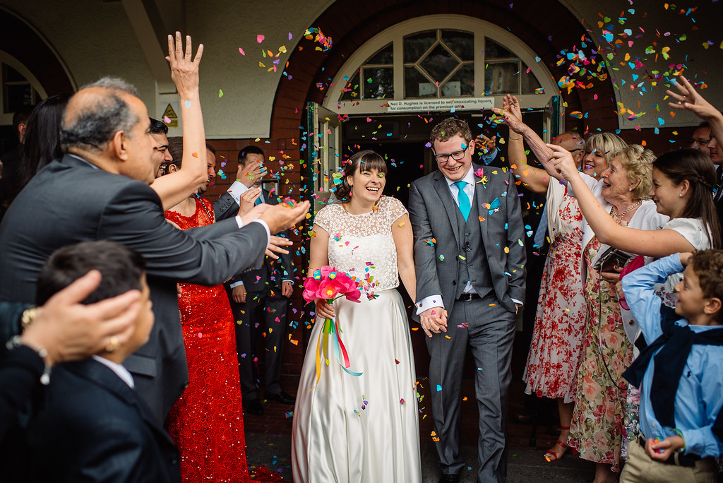 wedding day - confetti