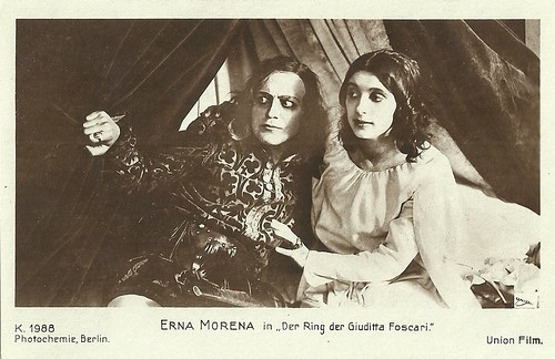 Erna Morena in Der Ring der Giuditta Foscari
