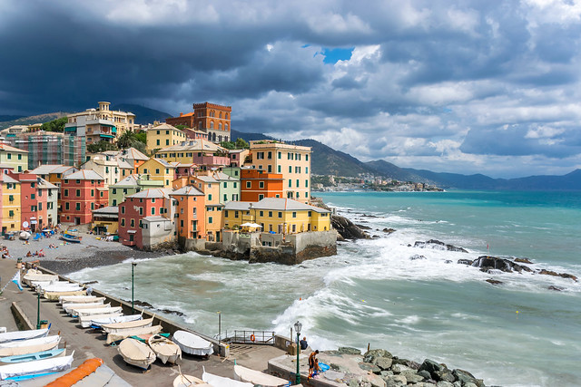 Boccadasse Genova Italia