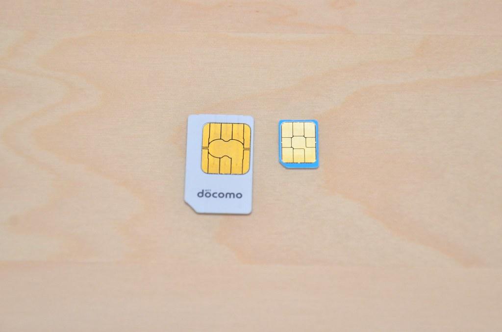 SIM サイズ比較
