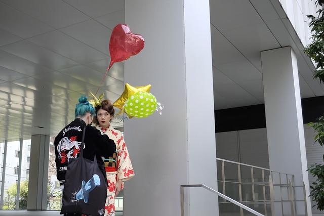 Shibuya Kimono shoot