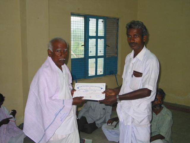 10th Thenur to Sevapur (Tamil Nadu) December,2002