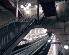 """Cité"", underground metro station, Paris."
