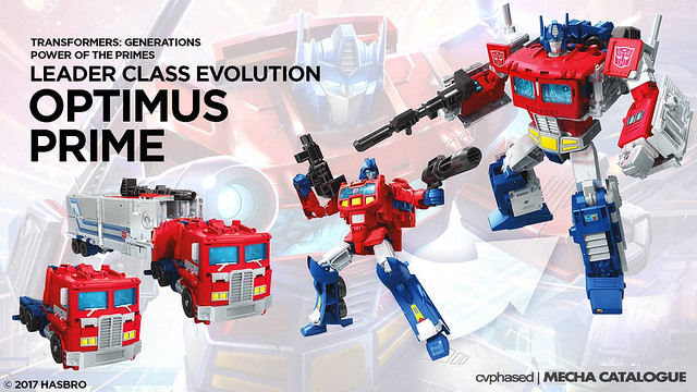 TRANSFORMERS Power of the Primes - Leader Class Evolution OPTIMUS PRIME