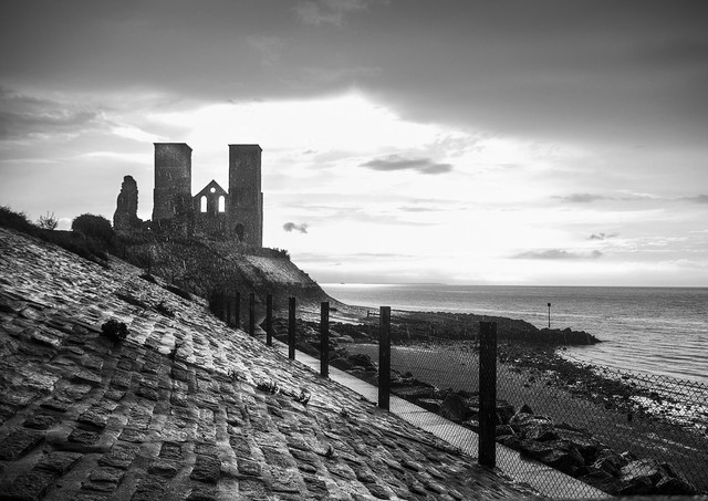 Reculver in the Rain