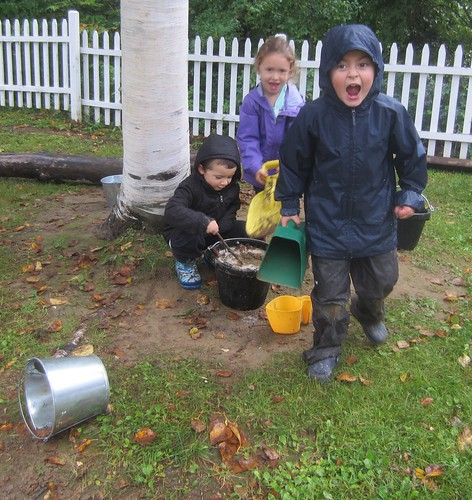 monsters making mud stew