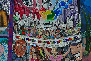 Mural in the City - Clarion Alley Heatlhy Safe Community