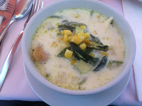 Exquisita Sopa poblana, Tour gastronomico Puebla, México