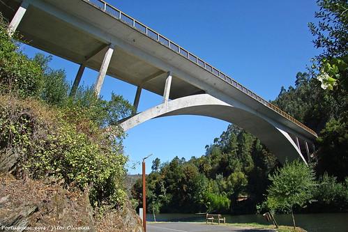 Ponte sobre o Rio Inha - Portugal 🇵🇹