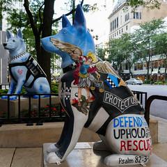 "K9s for Cops Public Art Campaign - ""Micah"" by Erika Vazzana"