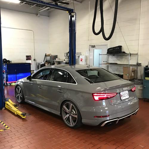 2018 Audi Rs 3 Interior: Installing The Bilstein B16