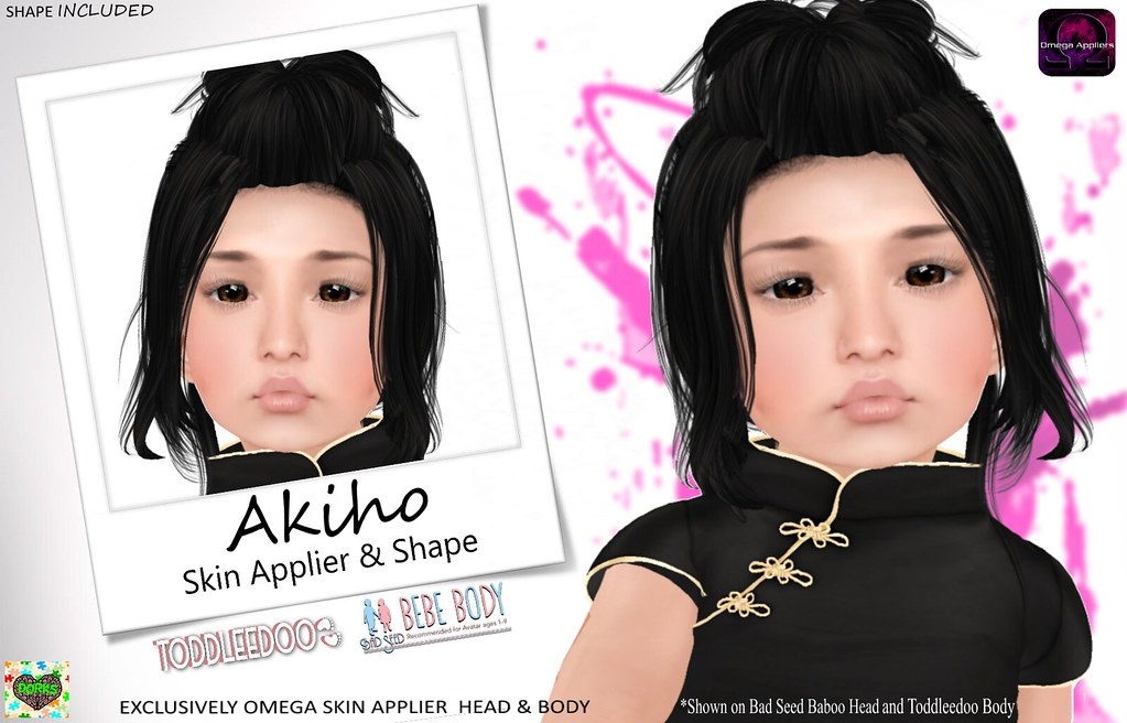 **DoRks** Akiho Skin & Shape Package @ Ninety - Nine (Aug) - SecondLifeHub.com