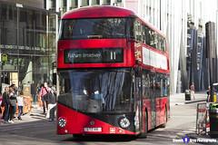 Wrightbus NRM NBFL - LTZ 1118 - LT118 - Fulham Broadway 11 - Go Ahead London - London 2017 - Steven Gray - IMG_6574