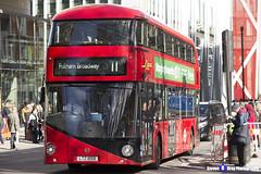 Wrightbus NRM NBFL - LTZ 1059 - LT59 - Fulham Broadway 11 - Go Ahead London - London 2017 - Steven Gray - IMG_6367