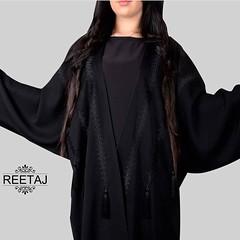 New Collection. For price and more details call or WhatsApp: +971503352535 - delivery to all GCC. ... Follow @reetaj_abaya @reetaj_abaya ... #subhanabayas #fashionblog #lifestyleblog #beautyblog #dubaiblogger #blogger #fashion #shoot #fashiondesigner #myd