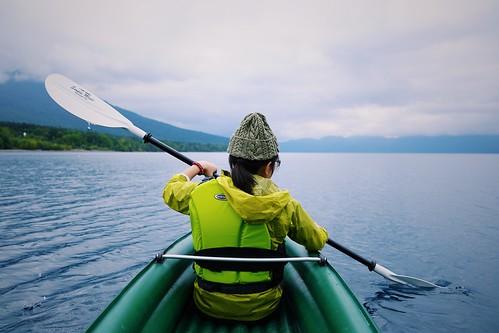 Lake Shikotsu campvibes