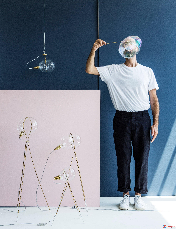 Những chiếc đèn thủy tinh làm bằng tay bởi Ohad Benit