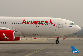 Avianca Brasil A330-200 ready to go PR-OCG (RD)