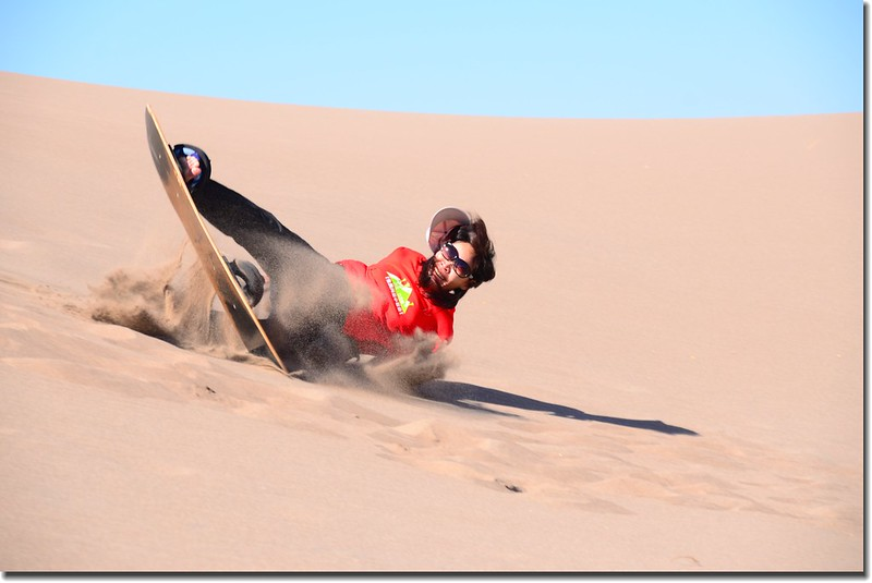 Sledding at Great Sand Dunes  (16)