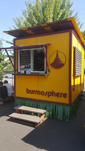 burmese food cart portland